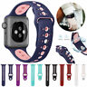 Silicone Sport Watch Band Strap For Apple Watch 40/44/38/42 iWatch Series5 4 3 2