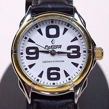 Russian mechanical Automatic watch RAKETA BIG ZERO Record. White dial. 36mm