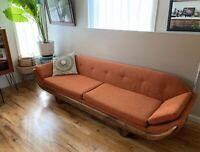 Vintage Mid-century Modern Gondola Sofa - Adrian Pearsall