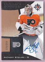 ANTHONY STOLARZ RC 2015-16 ULTIMATE COLLECTION ROOKIE AUTO #129/299 FLYERS