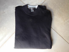 TIGER WOODS  Men's NIKE DRI-FIT Black  Golf Shirt Size Large  EUC
