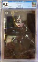 Catwoman #15 (2019 DC) Stanley Artgerm Lau NYCC Foil Variant CGC 9.8