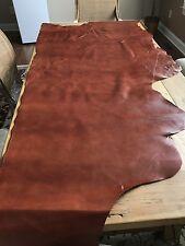 3' X 6' NEW Genuine Cowhide Caramel Brown Leather Half Hide