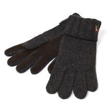 POLO RALPH LAUREN Gloves Grey Heather Merino Wool Size One Size RRP £75 RP 115