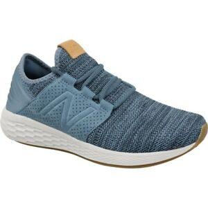 New Balance Men's Fresh Foam Cruz v2 Knit Shoe NEW AUTHENTIC Blue/White MCRUZKN2