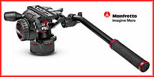 MANFROTTO NITROTECH N8 FLUID VIDEO KOPF MIT COUNTERBALANCE SYSTEM MVHN8AH NEU