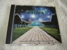 Insider - Jammin' for Smiling God CD 2000 Italy psych hard rock underrated