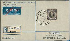52366 - Cook Islands -  POSTAL HISTORY - FDC COVER 1938 - ROYALTY