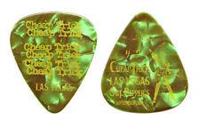 Cheap Trick Rick Nielsen Las Vegas Green Pearl Guitar Pick - 2009 Tour
