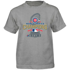 601e443ac8 Men s Delta Chicago Cubs Tee Shirt 2016 World Series Champs Sz 2xl