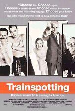 TRAINSPOTTING ORIGINAL ROLLED MOVIE POSTER 1996