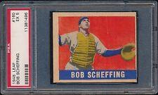 1948 Leaf 160 Bob Scheffing PSA 5 EX Chicago Cubs