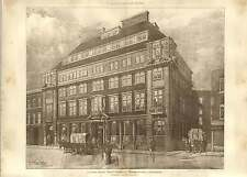 1903 Colonial House Tooley Street For Wills And Sparrow Stanley Peach
