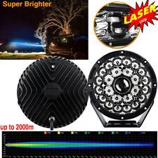 "8.5"" 1280W Round LED Laser Work Light Laser Off Road Driving 4X4 Fog Truck 1lamp"