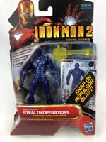 Iron Man 2 Comic Series Stealth Operations Action Figure NEW