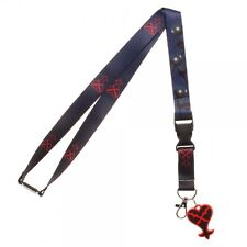 Disney's Kingdom Hearts Lanyard Charm ID Holder NEW Licensed Square Enix