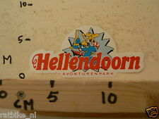 STICKER,DECAL HELLENDOORN AVONTURENPARK