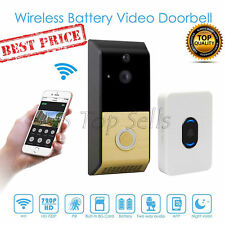 Video Doorbell WiFi Ring 720P Hd Motion Detection Night Vision Ir Led