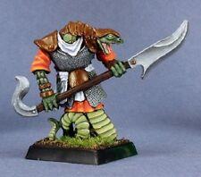 Ssathuss Nagendra Sergeant Reaper Miniatures Warlord Reptus RPG Fighter Snakeman