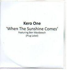 (228J) Kero One, When the Sunshine Comes - DJ CD