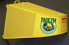 """Grass Catcher Bagger Bag Hustler X1I Rider 52"""" & 60"""" -  4.4 cubic ft - PK-EX4"""