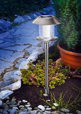 Gartenleuchte Solarleuchte Swing  Edelstahl inkl. Akku