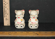 1 Set American Bisque Cats/Kittens Vintage Salt And Pepper Shakers 5483X