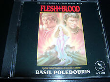 Flesh & + Blood Rare Varese Sarabande Club CD Limited Numbered CD 1046 of 1500