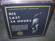 JOHN KENNEDY his last 24 hours / presidential years 1960~63 ( spoken ) 2 LP LOT