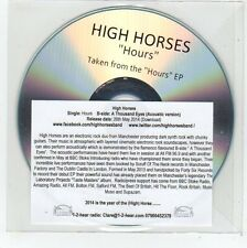 (FE858) High Horses, Hours - 2014 DJ CD