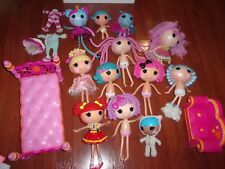 LALALOOPSY LARGE LOT OF FULL SIZE DOLLS AND FURNITURE