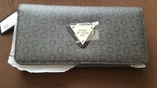 BRAND NEW WOMEN'S GUESS COAL COLORED WALLET PURSE