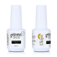 Ukiyo No Wipe Top Coat for Soak Off UV Gel Nail Polish Gelpolish 15ml