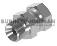 Burnett & Hillman M22 Macho 1.5mm Tono X Jic 1.4cm Girar Hembra Adaptador 01635