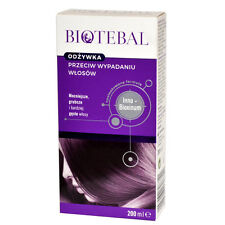 BIOTEBAL odżywka przeciw wypadaniu włosów hair loss conditioner 200 ml