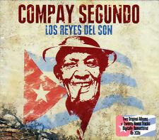 COMPAY SEGUNDO - LOS REYES DEL SON -2 ALBUMS ON NEW 2CD
