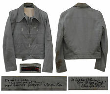 Bruce Lee Grey Cotton Jacket With a COA From His Wife, Superior Estate Auction