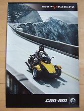BRP® can-am® Spyder® GS/RS 2008 Markenbanner, Reklame Werbung Deko 120x80cm