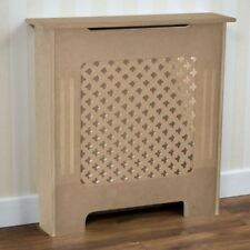 Oxford Radiator Cover Traditional Unfinished Small MDF Cabinet Unpainted