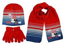 Set Inverno 3pz Bambina Cappello Sciarpa Guanti MINNIE Disney invernale lana b0f776b9454a