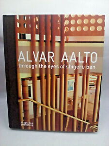 Alvar Aalto through the eyes of shigeru ban Architecture Hardcover Book - Fine