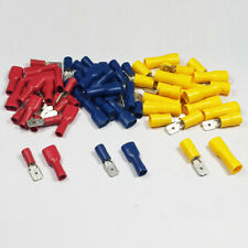 Fully Insulated Female Spade Terminals & Male Tab Mixed Bags Crimp Connector