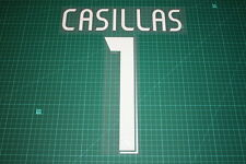 Real Madrid 06/07 #1 CASILLAS Awaykit / 3rd Awaykit Nameset Printing