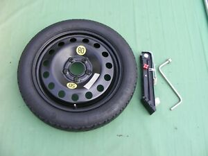 "Bmw 1 Series Space Saver Spare wheel & Tyre 16"" + Jack & Wheel Spanner"
