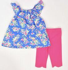 Ralph LAUREN Bebé Niñas Adorable 2pc traje de verano, Leggings & Top, 24 meses