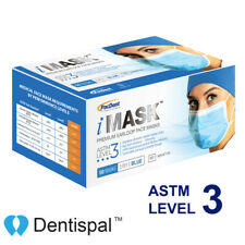 Disposable Premium Medical Surgical Ear-Loop Face Masks ASTM Level 3 iMask 50pcs