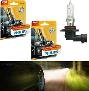 Philips Standard 9005 HB3 65W Two Bulbs Head Light High Beam Replace Lamp Fit OE