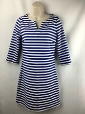forever 21 Essentials Blue Striped Size S Tunic Dress
