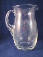 Vintage Mid Century Retro Noritake/Sasaki Wheat Hourglass Shaped Handle Pitcher