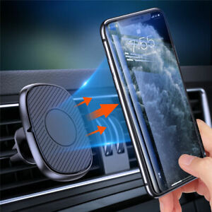 For Cell Phone GPS Magnetic Car Phone Holder 360 Degree Dashboard Air Vent Mount